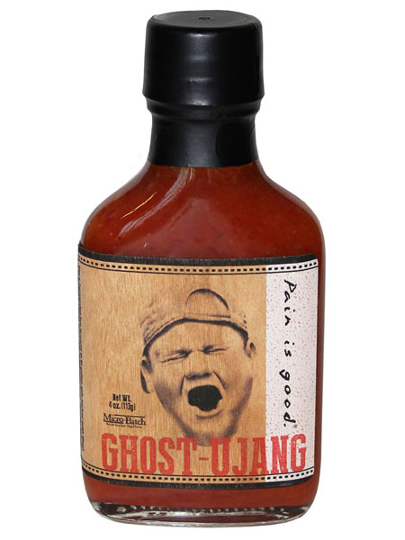 Ghost-Ujang Hot Sauce